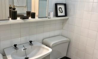 Baño apartamento del servicio