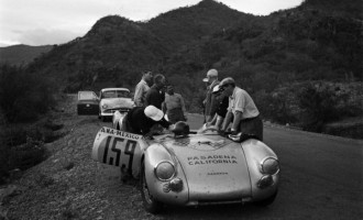 Primera carrera de Porsche en la Panamericana con el Príncipe